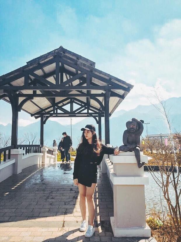 Khánh Linh đánh giá các thí sinh trong cuộc thi bởicô cho rằng, ai cũng có một tài năng, nhan sắc riêng.