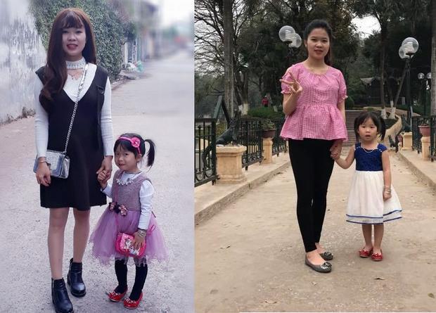 Mẹ Thương Ngô đang mang bầu 7 tháng.