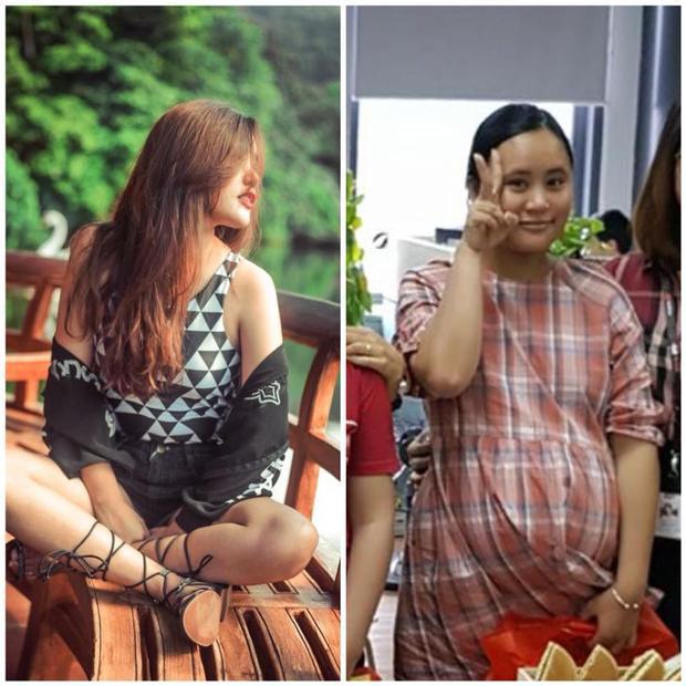 """Mẹ bầu Thu Trang đã mất đi vẻ """"sexy"""" ngày nào."""