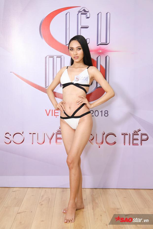 Thu Hiền từng là học trò của HLV Lan Khuê, cô nàng sinh năm 1995, sở hữu gương mặt khả ái cùng chiều cao nổi bật.