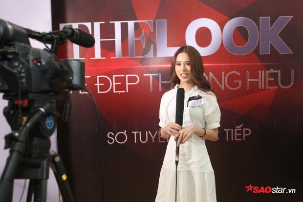 Lan Khuê xuất hiện rạng rỡ trong buổi tuyển sinh kép Siêu mẫu Việt Nam  The Look