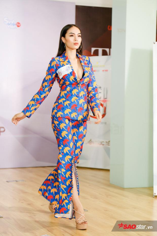Thí sinh Hoàng Thị Hương Ly tiếp tục thử sức ở Siêu mẫu Việt nam năm nay. Trước đó cô từng lọt top 5 Hoa hậu biển 2016 và tham gia nhiều cuộc thi nhan sắc trong nước.