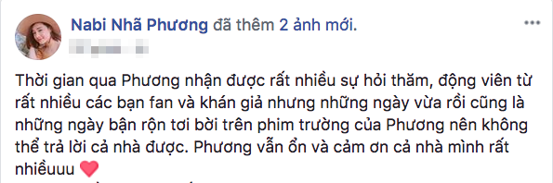 Nhã Phương lên tiếng giữa scandal của Trường Giang và Nam Em.