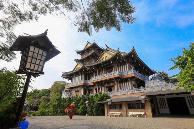 Tu viện Khánh An được ví như một Tokyo thu nhỏ giữa lòng Sài Gòn.