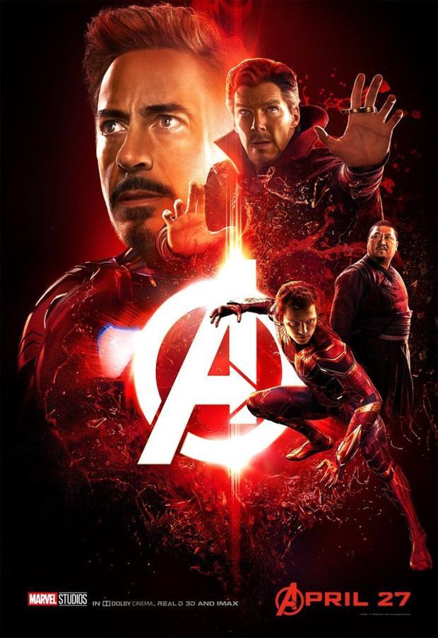 Iron Man, Doctor Strange, Spider Man và Wong