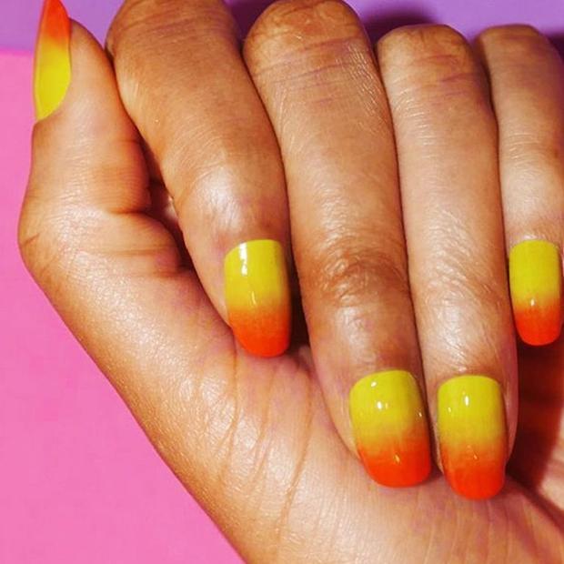 Màu mặt trời mọc đứng đầu danh sách bảng xếp hạng những màu nail thời thượng nhất cho mùa hè này.