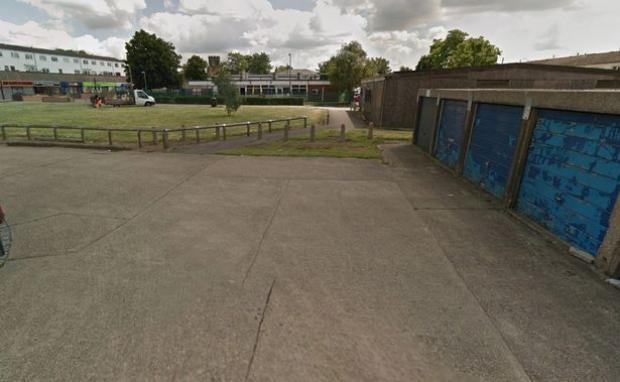 Đoạn đường nơi cặp đôi nằm ngủ. Ảnh:Google Street View