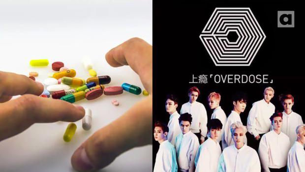 """Nếu người thân của bạn cứ lẩm nhẩm cụm từ """"Overdose"""" thì đừng quá hoảng sợ, nó không chỉ có nghĩa dùng thuốc quá liều đâu nó còn là tên ca khúc chủ đề từ EXO đó."""