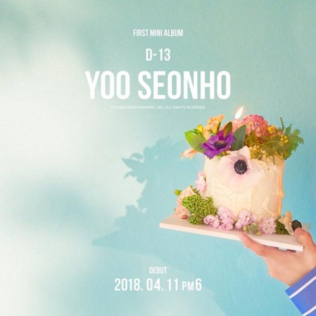 """""""Chíp em"""" Yoo Seonho cũng sẽ được CUBE cho đánh lẻ debut vào 11/4 với mini album."""