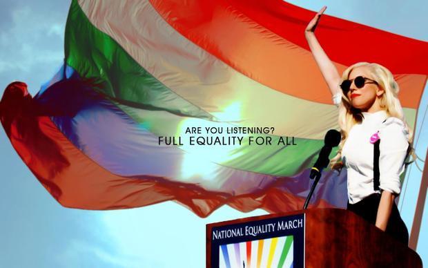 """Lady Gaga còn được mệnh danh là một """"gay icon"""" - một tượng đài của cộng đồng LGBTQ+"""