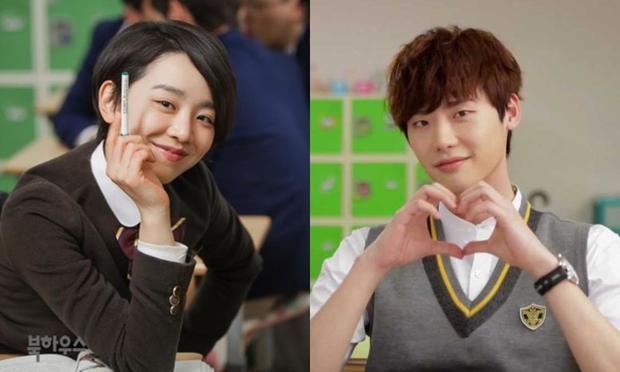 Lee Jong Suk và Shin Hye Sun trong School 2013.