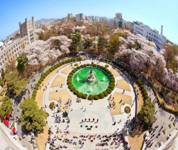 Đây là ngôi trường được mệnh danh đẹp nhất Seoul