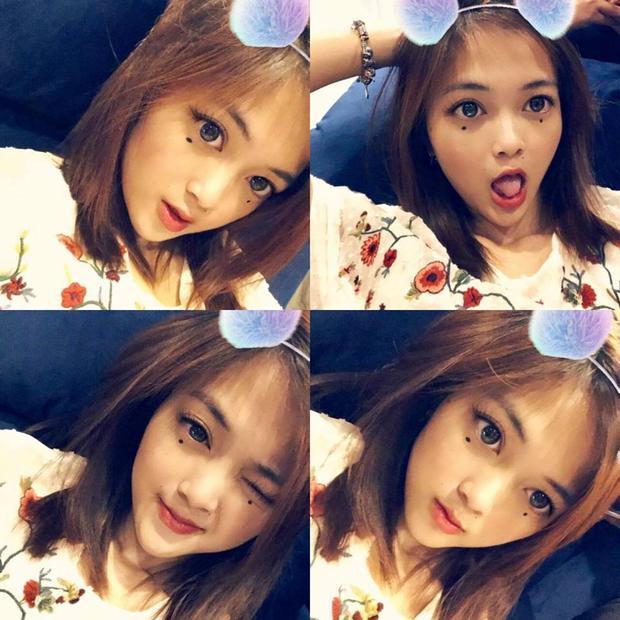 Những bức ảnh cực dễ thương của cô nàng.