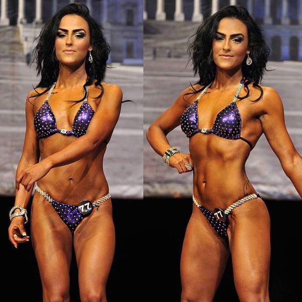 Mặc cho tình trạng sức khỏe khá yếu ớt, Demi chưa hài lòng với số kí hiện tại, cô tiếp tục quá trình giảm cân bằng cách đăng kí tham gia cuộc thi Body Building. Cô giảm thêm 10 kg nữa bằng cách nhịn ăn và tăng cường cardio trong vòng 18 tuần.