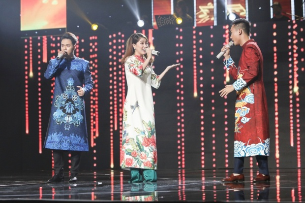 Bộ ba Đoàn Thanh Sơn - Tuấn Anh - Khánh Linh.