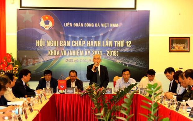 Ông Trần Văn Liêng muốn vào VFF để đóng góp cho bóng đá Việt Nam.