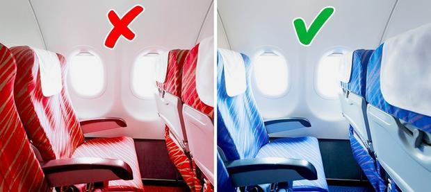 Sau nhiều lần thử nghiệm sử dụng vải bọc ghế màu đỏ, nhiều hãng hàng không phải quay trở về với màu xanh dịu dàng vì những lợi ích mà nó mang lại.