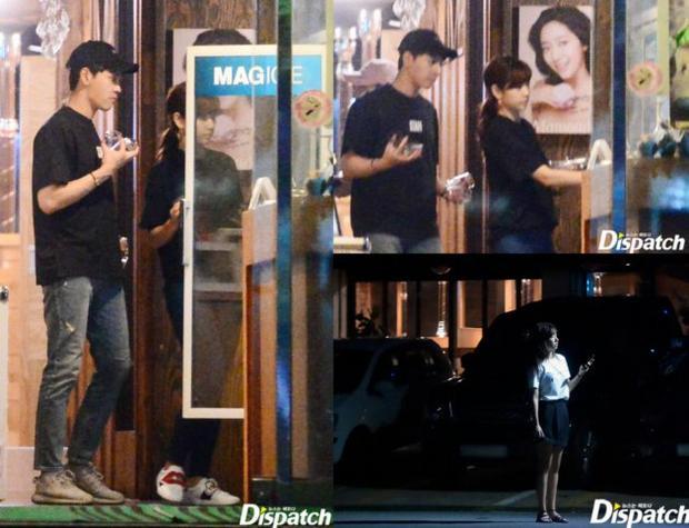 Hình bí mật hẹn hò của Park Shin Hye - Choi Tae Joon.