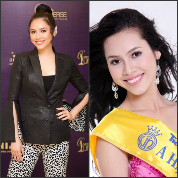 Á hậu 1 Hoa hậu Việt Nam 2010 vốn dĩ sở hữu gương mặt sắc sảo với phần miệng rộng đậm chất Latinh. Theo thời gian,vẻ đẹp ấy lại càng trở nên cuốn hút, từng trải hơn dù gặp nhiều scandal trong suốt 8 năm vào showbiz.