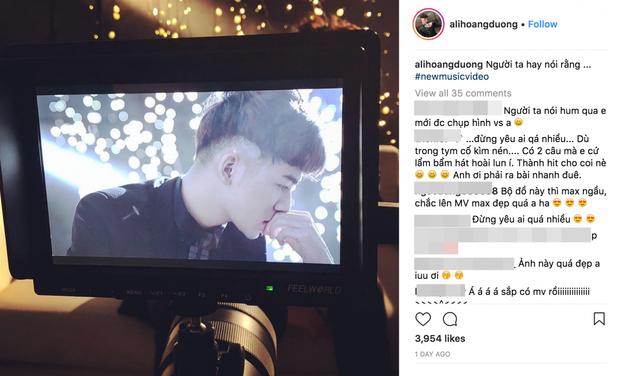 """Trên Instagram, Ali liên tục khiến fan hồi hộp """"muốn xỉu""""."""