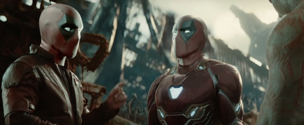 Iron Man và Star-Lord.
