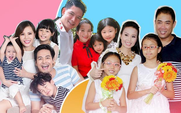 Học hỏi cách giữ lửa hôn nhân cùng các gia đình sao Việt