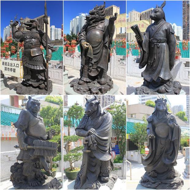 Đây là nơi thờ cúng cả 3 tôn giáo chính ở Trung Quốc là Phật giáo, Khổng giáo và Đạo giáo. Ảnh: Lense Moments