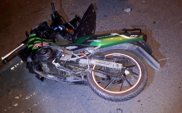 Chiếc xe máy của nạn nhân được tìm thấy cách thi thể 500m.
