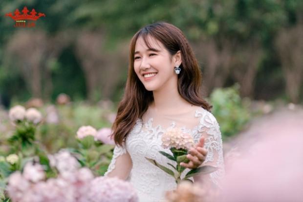 Cô bạn Đào Nguyệt Hằng - Miss Thủy lợi 2018.