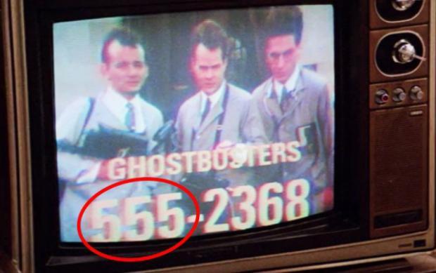 Vì sao phim ảnh Hollywood lúc nào cũng chỉ dùng các số điện thoại bắt đầu bằng 555?