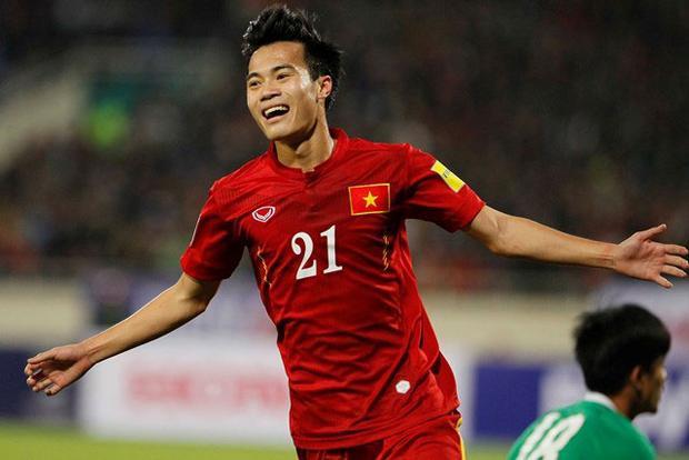 Theo tờ Goal, Văn Toàn đủ sức chơi bóng ở Thai League. Ảnh: Dân trí.