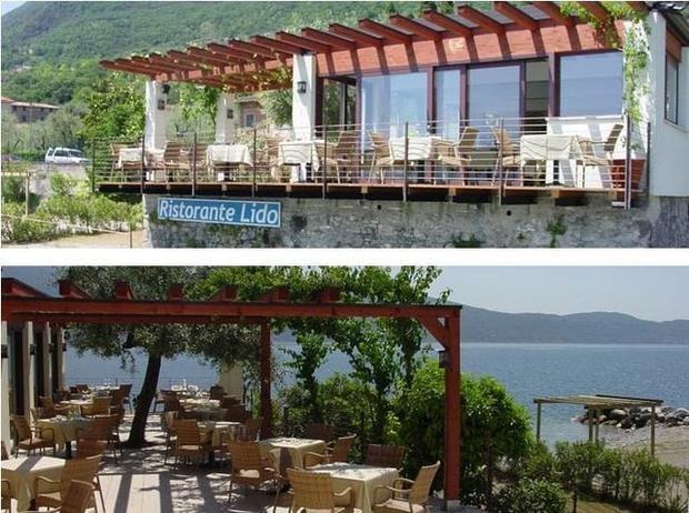 Tối hôm đó, du khách sẽ dùng bữa tại Lido - một nhà hàng gia đình với không gian hướng ra hồ vô cùng thơ mộng.