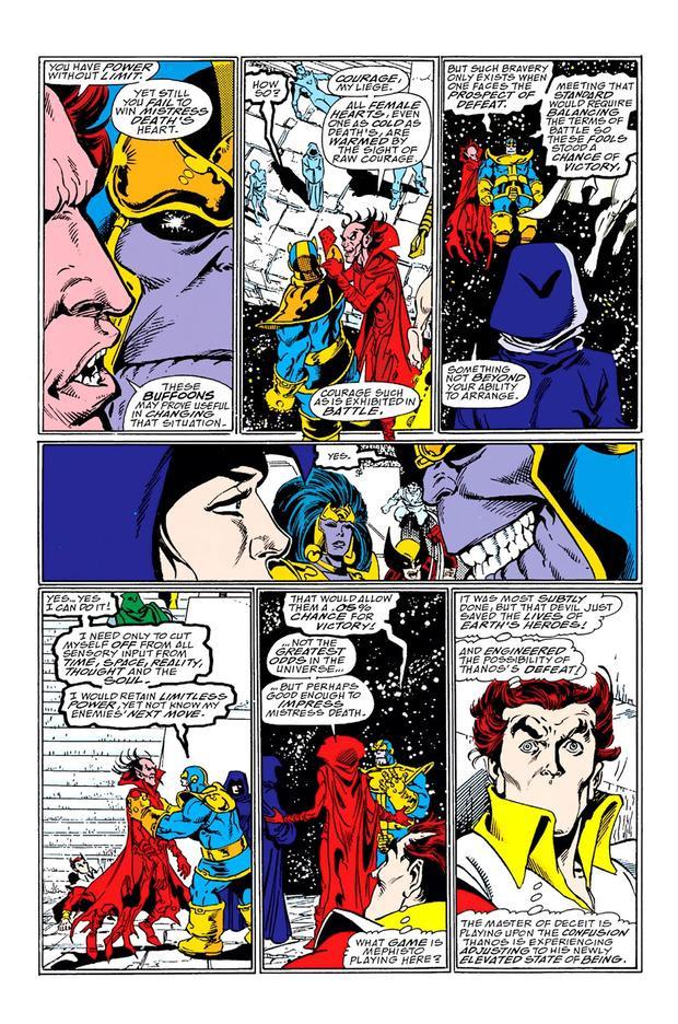 Đây có thể là lý do Captain America chặn đứng được Thanos