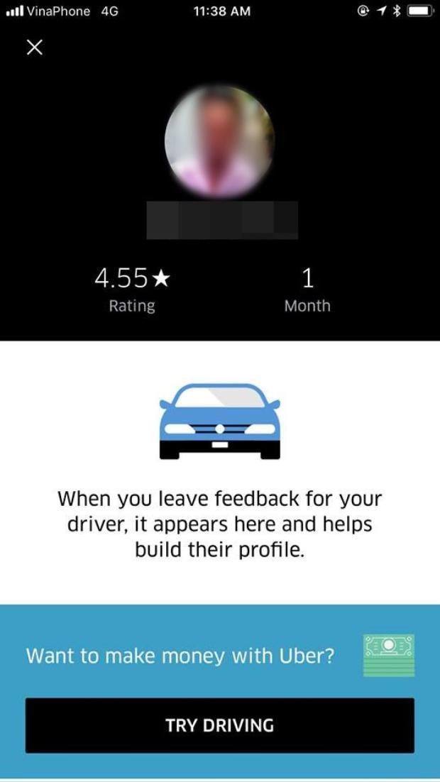 Bầu 7 tháng, Hà Anh bị tài xế Uber đuổi khỏi xe vì nhờ tắt radio