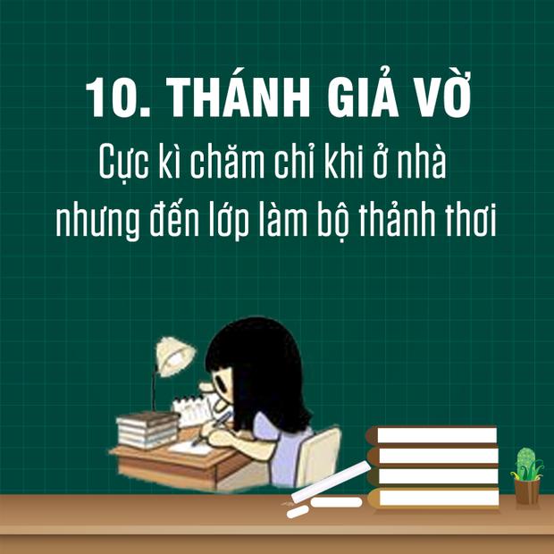 Điểm danh 16 kiểu sinh viên ai cũng gặp trên giảng đường đại học
