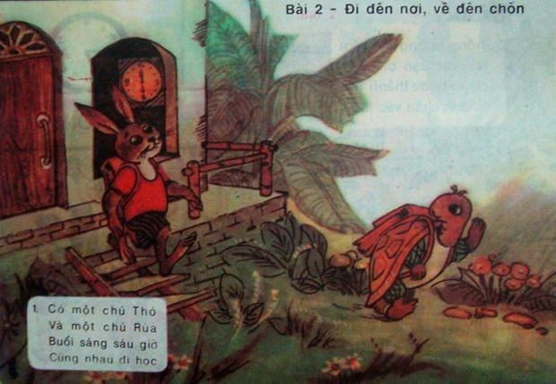 """Tác phong """"Đi đến nơi, về đến chốn"""" với hình ảnh mượn từ chuyện ngụ ngôn Rùa và Thỏ"""
