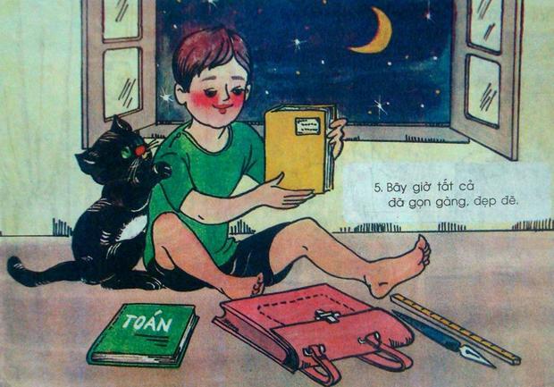 Lời nhắc nhở giữ gìn sách vở và đồ dùng học tập bởi đó chính là biểu hiện của một học sinh ngoan, ham học.