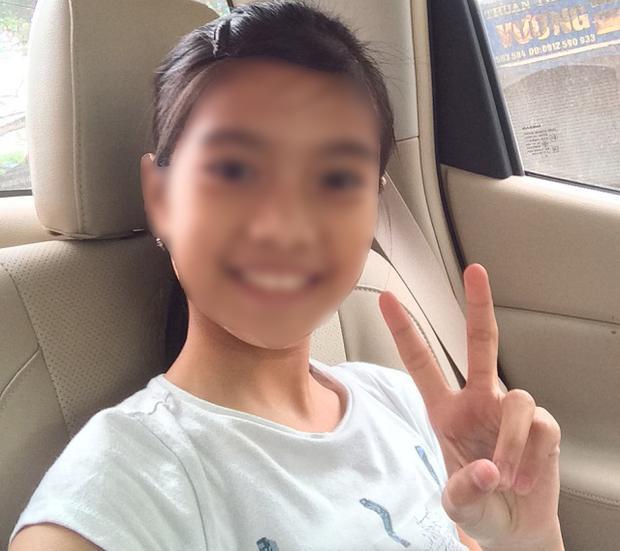 Cháu Thảo hiện đã trở về nhà (ảnh gia đình cung cấp)