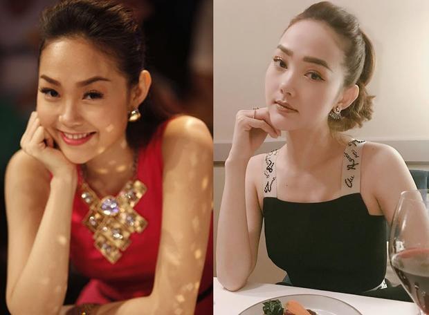 """Nhiều người cho rằng tuy V-line cũng phù hợp với Minh Hằng, tuy nhiên cô không nên """"lạm dụng"""" các phương pháp làm đẹp khiến gương mặt ngày càng khác lạ, kém hài hòa."""