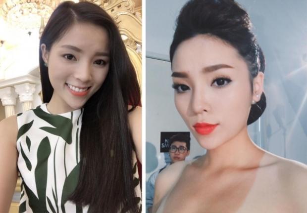 Gần 4 năm sau khi đăng quang Hoa hậu Việt Nam 2014, gương mặt Kỳ Duyên gần như hoàn toàn khác biệt.