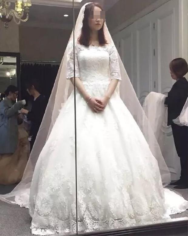 Cô dâu vào ngày chụp ảnh cưới