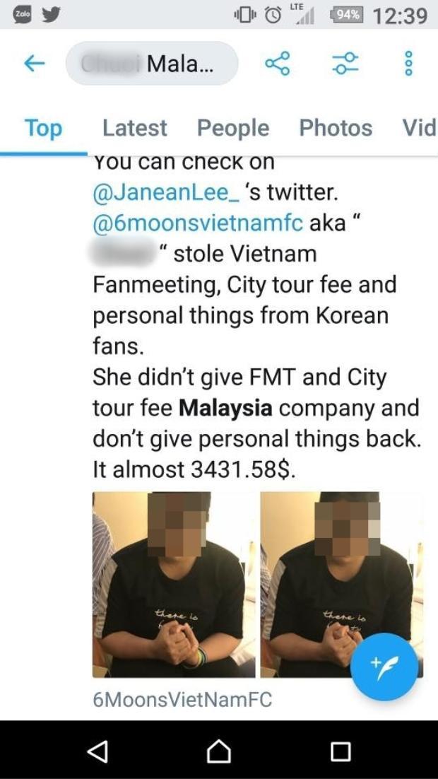 Nghi vấn fan Việt bị bắt giữ ở Malaysia vì tội lừa đảo tiền của fan Hàn Quốc