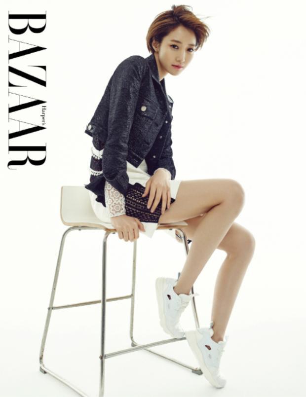 Nữ diễn viên sinh năm 1985 người Hàn Quốc sở hữu chiều cao đáng ngưỡng mộ (1.72m).