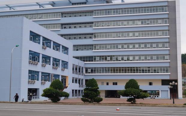 Bệnh viện đa khoa Bắc Kạn nơi xảy ra sự việc.