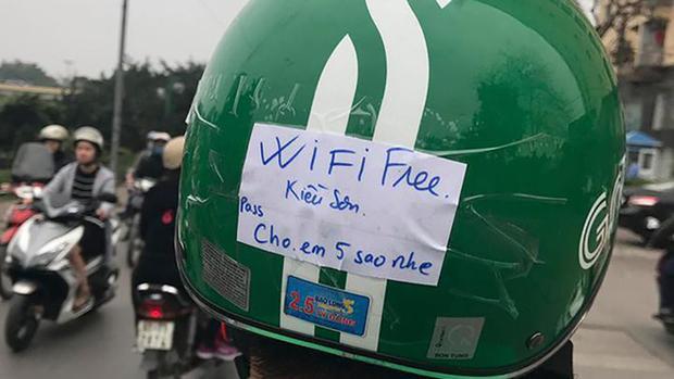Wifi Fre Kiều Sơn, mật khẩu: Cho em 5 sao nhe