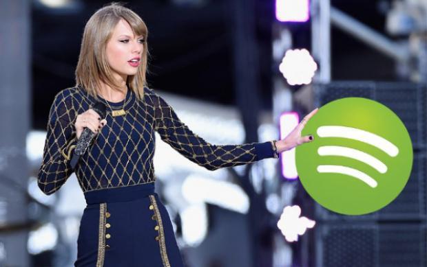 Mối quan hệ của Taylor Swift và Spotify tốt đẹp lên trong khoảng một năm trở lại đây.