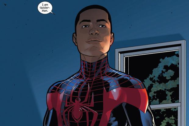 """Miles Morales từng được dự đoán sẽ có màn ra mắt màn ảnh rộng dưới tư cách """"Người Nhện da màu đầu tiên""""."""