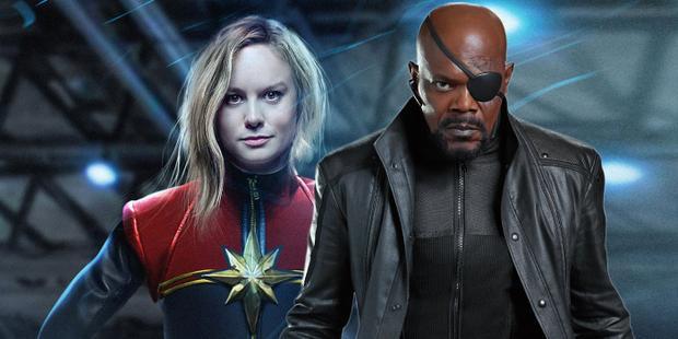 Captain Marvel là siêu anh hùng đầu tiên mà Nick Fury có cơ hội gặp gỡ.