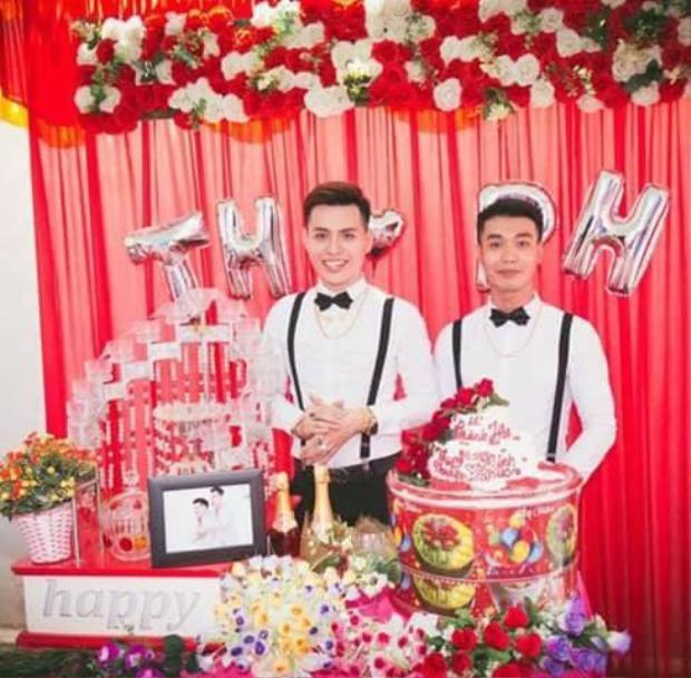 Lễ cưới của cặp đôi đồng tính nam mới diễn ra vào cuối tháng 2 vừa qua.