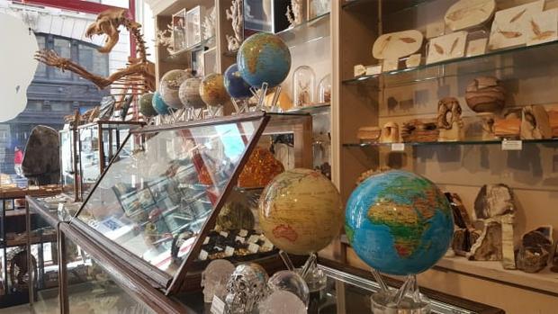 Một góc trưng bày trong cửa hàng. Ảnh:Courtesy Evolution Store